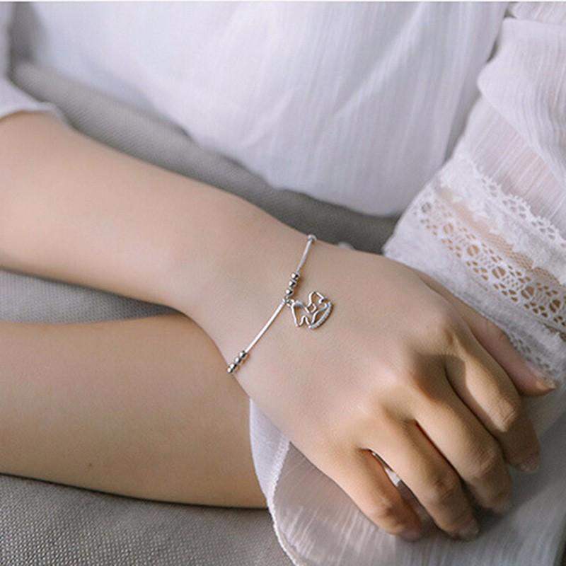silver charm anklet or bracelet model2