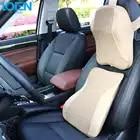 1 Set Car Seat Terug Ondersteuning Nekkussen Kussen Memory Foam Bekleding Hoofdsteun Taille Lumbale Kussen Dutje Pads Auto zorg - 3