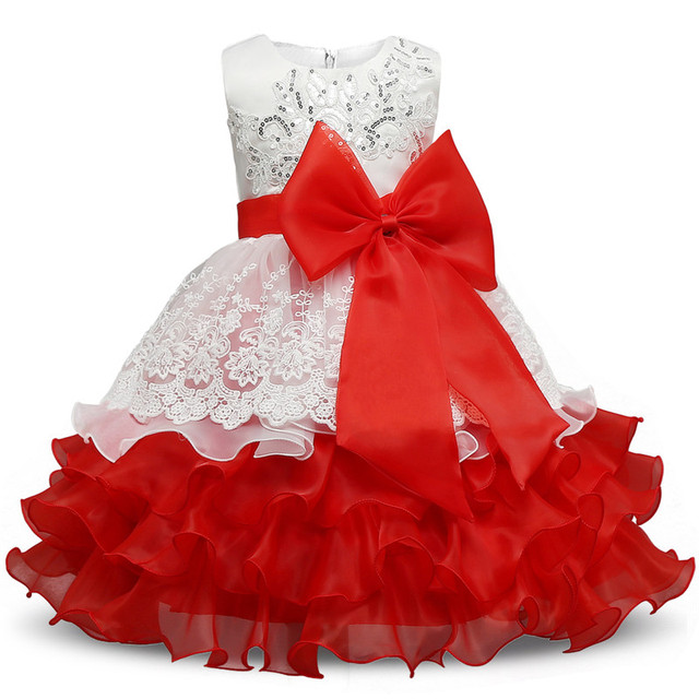 c3c39553e ABGMEDR Brand Flower Girl Dress for Wedding and Party Multilayer ...
