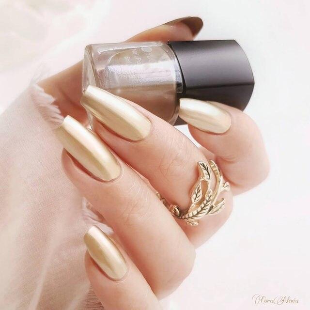 Online Shop UR SUGAR Colorful Pink Silver Gold Mirror Metallic Nail