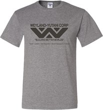 Adult Weyland Yutani Corporation Alien Company Science Fiction T-Shirt