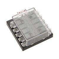 ใหม่10 Wayใบมีดกล่องฟิวส์บวกรถบัสใน32โวลต์DC LED