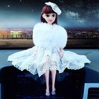 RAINBOX Fashionable Lovely Doll Car Ornaments Interior Charm Decoration Ornament Creative Gift For Adult Children WJ592
