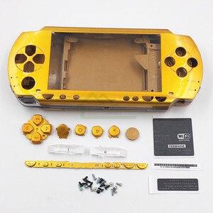 Image 4 - 9 kolory opcjonalnie obudowa Shell skrzynki pokrywa wymiana dla PSP1000 PSP 1000 konsola do gier do naprawy części