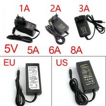 5V Power Supply 5V3A Adapter 5V 1A 2A 3A 5A  Universal Power Adapters 5.5MM*2.5MM EU US 5 V Volt Charger Adaptor for Led strip ba05cc0wfp 05cc0w 5v 1a to252 5