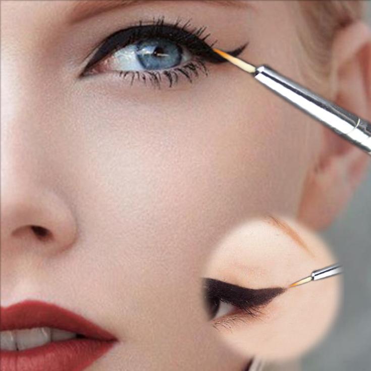 Hot Beauty Eye Thin Liner Eyeliner Shadow Gel Makeup Cosmetic Brush 2018 New Fashionable Waterproof
