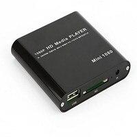 Card Reader Tablets Sd Card High Quality 1080P Mini HDD Media Player MKV H 264 RMVB