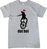 8806ac65fcda Christmas Here Comes Dat Boi Waddup Meme T Shirt New Mens Spring Summer  Dress Short Sleeve. Natal Aqui Vem Dat Boi Waddup Meme camiseta Novos Homens  ...