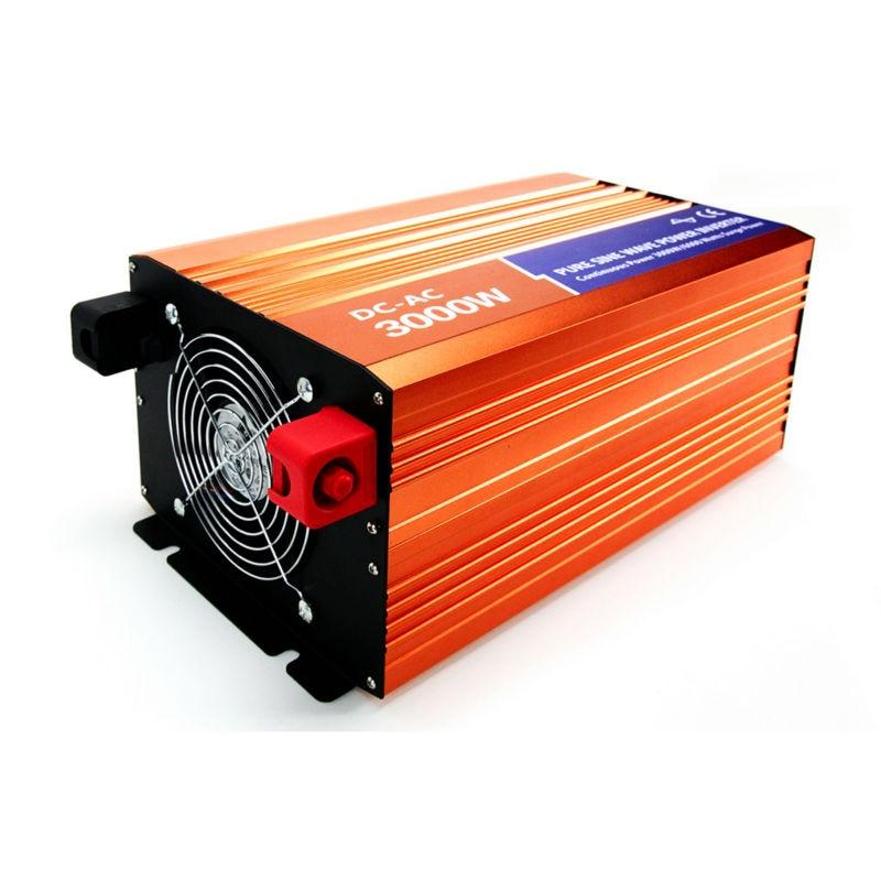 MAYLAR@ 3000W 12VDC 110V/120V/220V/230VAC 50Hz/60Hz Peak Power 6000W Off-grid Pure Sine Wave Solar Power Inverter maylar 22 60vdc 300w dc to ac solar grid tie power inverter output 90 260vac 50hz 60hz