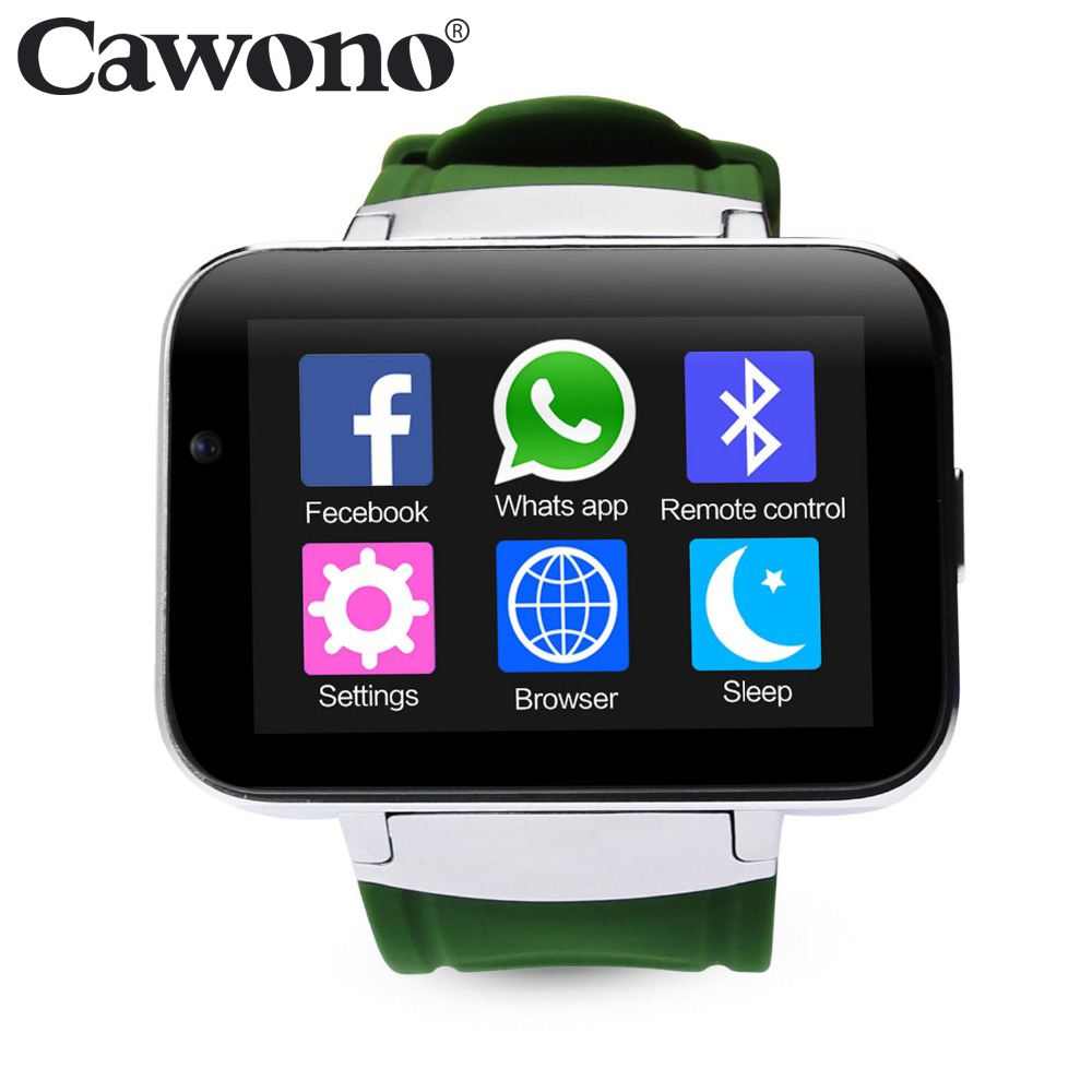 2.2 inch IPS CA06 Bluetooth Smart Watch Android Phone Smartwatch Relogios Relojes Watch 3G WCDMA 4GB Camera Playstore GPS WIFI