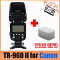 Triopo TR-960 II Speedlite Flash for Canon 550D 600D 450D 500D 650D 5D 5DII 5DIII T3i T2i as YN560II