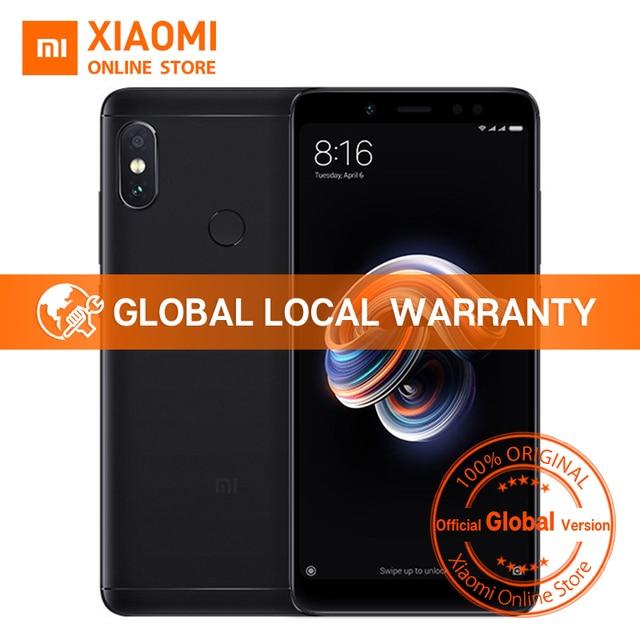 """Global Versão Xiaomi Redmi Nota 5 4 GB 64 GB 5.99 """"Snapdragon Note5 Tela Cheia Dual Câmera Do Telefone Móvel 636 Octa Núcleo 4000 mAh"""