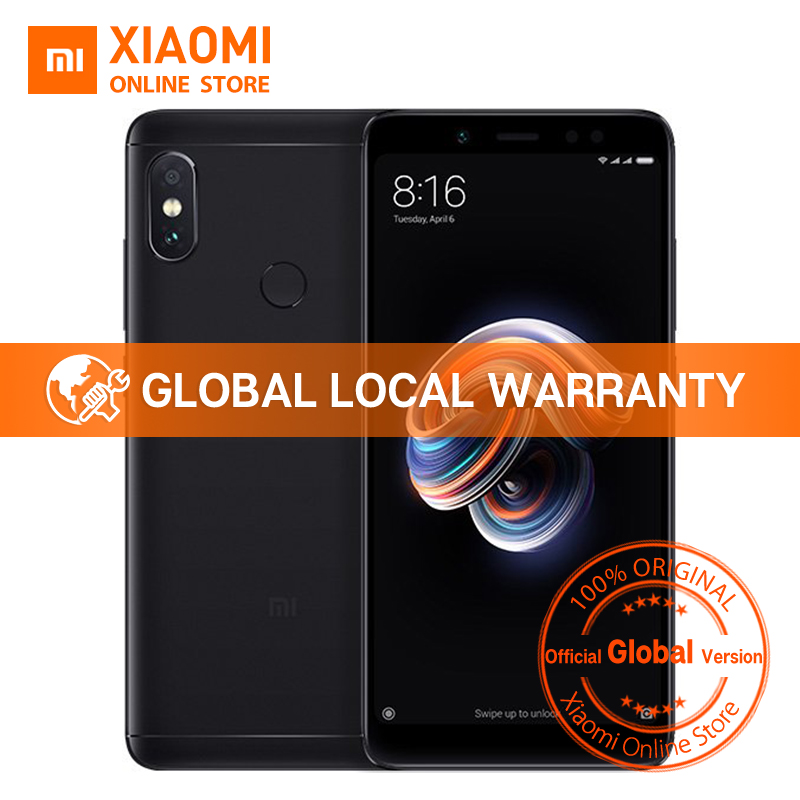 "Global Version Xiaomi Redmi Note 5 4gb 64gb 5.99"" Full Screen Dual Camera Mobile Phone Note5 Snapdragon 636 Octa Core 4000mah"