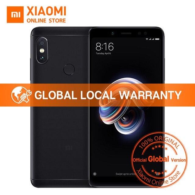 """Глобальная версия Xiaomi Redmi Note 5 4 ГБ 64 ГБ 5,99 """"полный Экран мобильный телефон с двумя камерами Note5 Snapdragon 636 Octa Core 4000 мАч"""