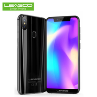 LEAGOO S9 Dual 4G LTE Smartphone 5.85 Inch Face ID Android 8.1 Octa Core 4GB RAM 32GB ROM 13MP+8MP Fingerprint Notch Cell Phones