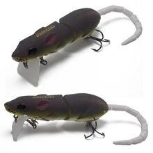 2 шт crank rat твердые приманки 14g мышь мульти кусок topwater