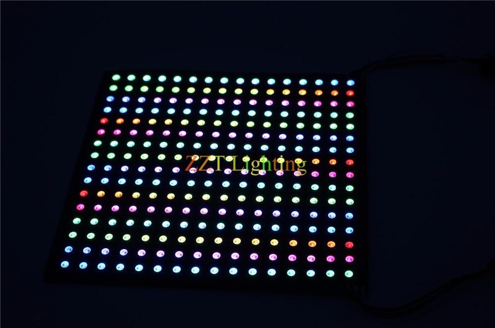 Image 4 - P10mm 16*16 بكسل 256leds مرنة صغيرة led مصفوفة ws2812 WS2812b-في وحدات LED من مصابيح وإضاءات على AliExpress