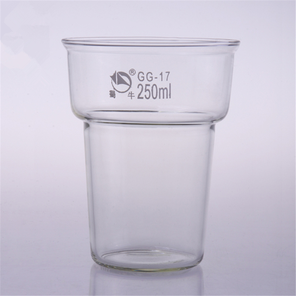 250ml/400ml Dyeing Beaker Dye Pot Beaker Chemistry Lab Borosilicate Glass Transparent Beaker Lab Supplies shuniu 500ml tall beaker lab beaker 500ml beaker in tall form with graduation and spout boro 3 3 glass
