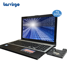 Expandable hard drive 15.6 inch laptop Intel Celeron J1900 2.0GHz 4G ram 500G HDD in camera with DVD-RW