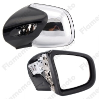 Motorcycle Bike Parts Rearview Side Mirrors Left & Right For BMW K1200 LT 1999 2000 2004 2005 2006 2007 2008 UNDEFINED Chrome
