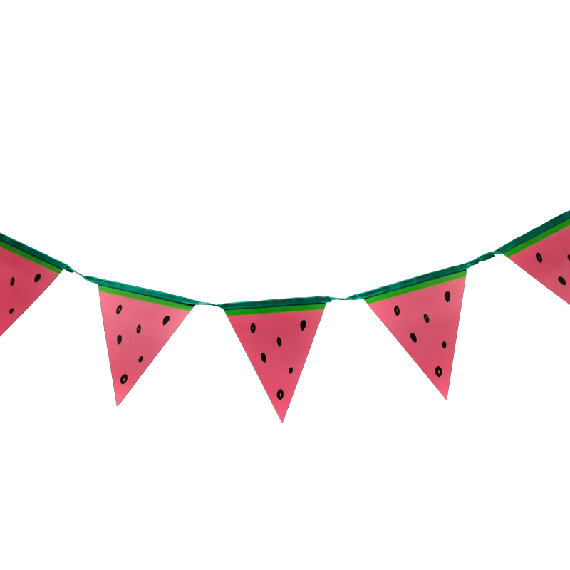 Wooden Unicorn Bunting 1m Long with 6 Pennants Childrens Décor