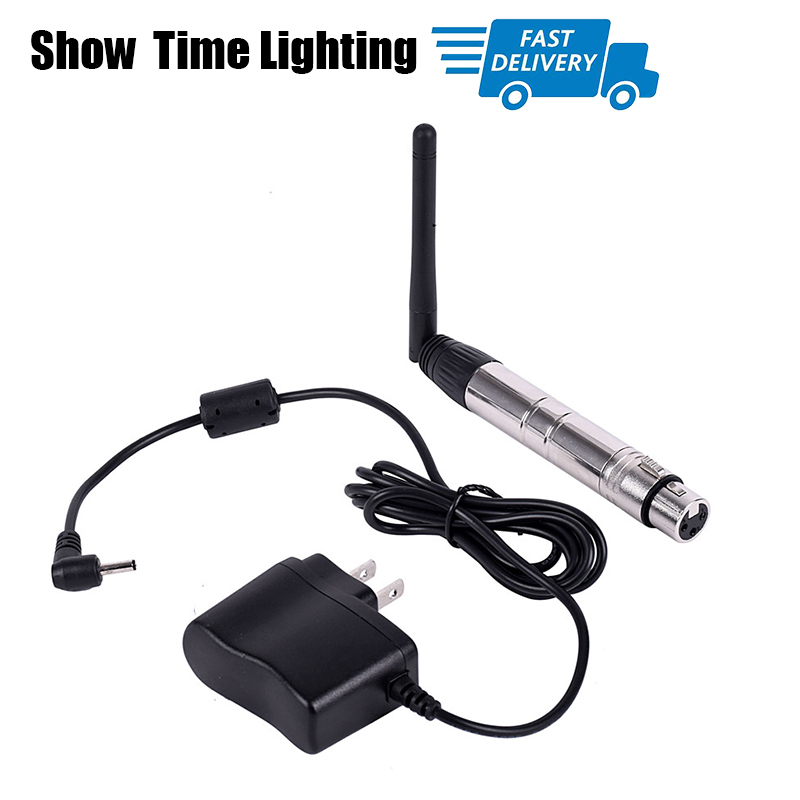 Long Distance Effective Wireless Dmx 512 Transmitter And Receiver 2pcs/Lot 2.4g Dmx 512 For Stage Light Long Distance