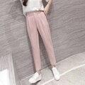 Hot Sale Harem Pants Spring Summer Women OL Pants Casual Harem Suit Pants Elastic Waist Slim Work Pants Plus Size 3XL Trousers