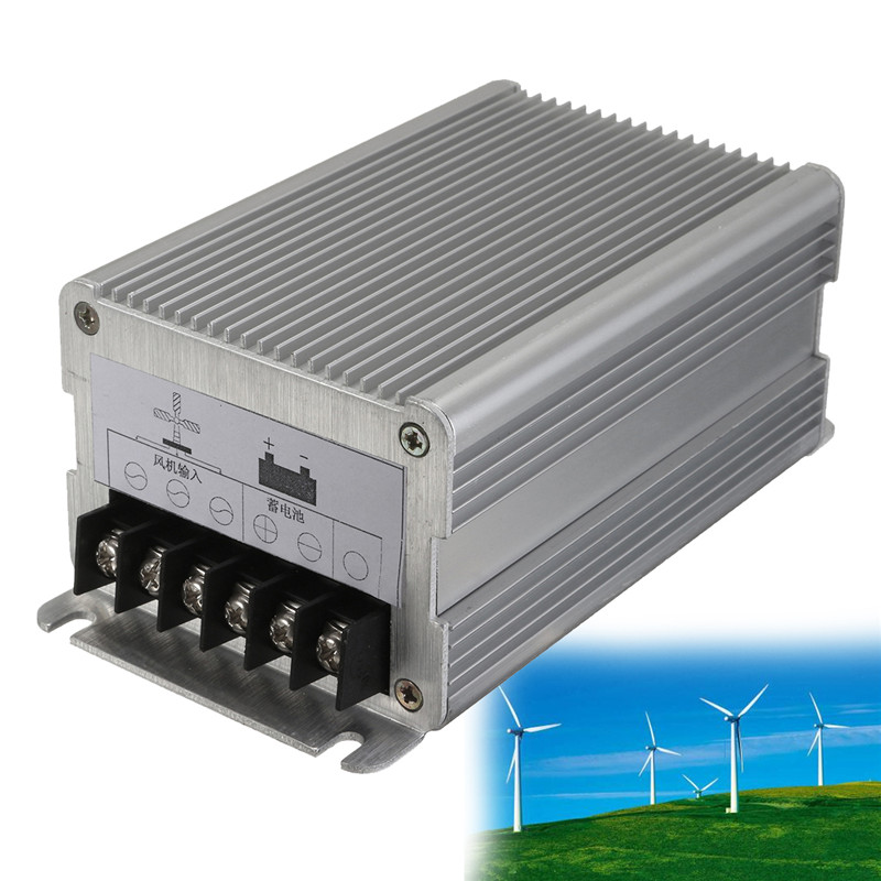 Best Price 12V 300W/24V 600W Wind Turbines Generator Charge Controller Regulator Waterproof Outdoor Wind Generator Controller free shipping 600w wind grid tie inverter with lcd data for 12v 24v ac wind turbine 90 260vac no need controller and battery