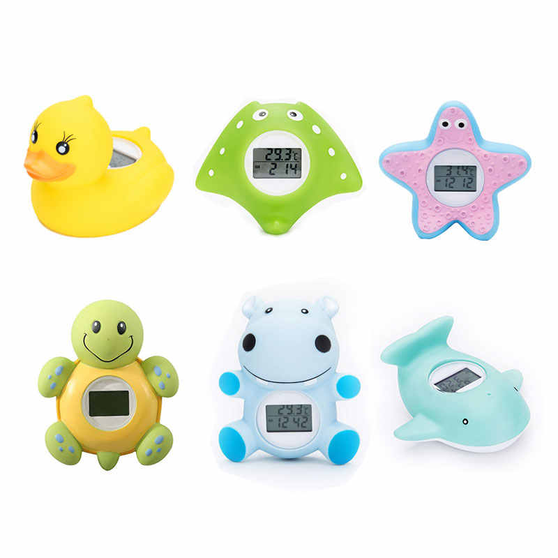 Baby Bath Thermometer Household For Children Bathtub Swimming Pool Safety Thermometer With Temperature Alarm New
