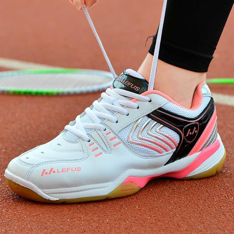 Badminton Shoes 2019 New Men Professional Badminton Shoes Sneakers Couples Badminton Sneaker Indoor Sport Tennis