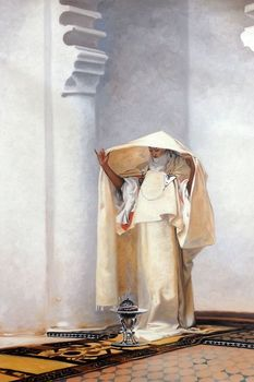 100% Hand Painted Canvas Oil Paintings of Abstraction Smoke of Ambergris, 1880 by John Singer Sargent Fine Arts Portrait