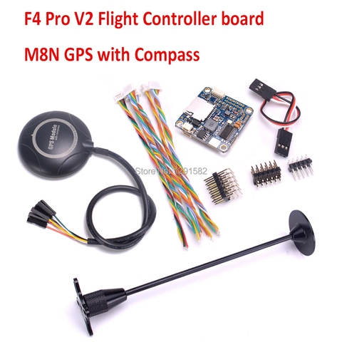 F4 Pro V3 / FLIP 32 F4 V2 PRO flight controller board / M8N GPS with compass For FPV VX210 Drone Quadcopter Lahore