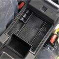 Negro estiba ordenar mini caja de almacenamiento apoyabrazos del coche para volvo xc60 s60 s60l v60 car styling