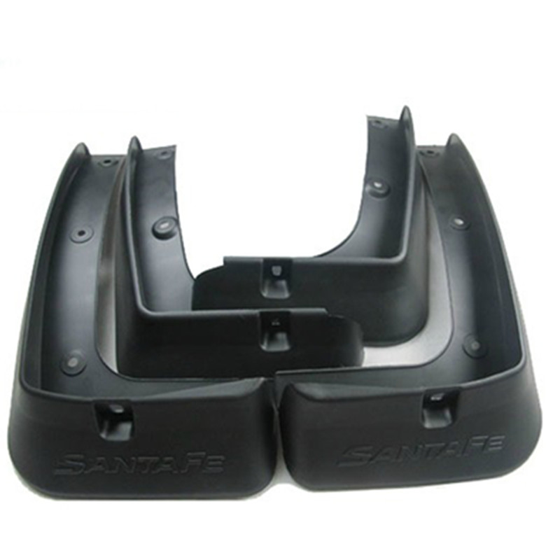 Soft plastic Mud Flaps Splash Guard For 2013 Hyundai Santa Fe ix45Soft plastic Mud Flaps Splash Guard For 2013 Hyundai Santa Fe ix45