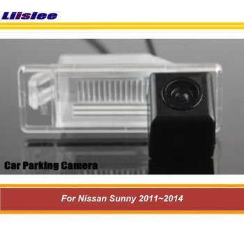 Car Reverse Rearview Parking Camera For Nissan Sunny 2011 2012 2013 2014 Rear Back View AUTO HD SONY CCD III CAM image