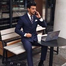 Blue Stripe Suit