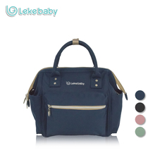 Lekebaby Fashion Mummy Maternity Bag Mini Convertible Diaper Bag for Baby Care