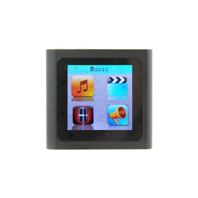"6th Clip Mp3  Player 32 GB 1.5"" FM TEXT Reader AudioRecorder Free Shipping"