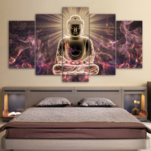Full Square Drill DIY Diamond Embroidery 5 Pcs Buddha Painting Mosaic Sale Cross Stitch Wall Sticker Picture Home Decor