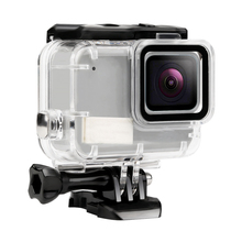 Waterproof Case Accessories Set Mount for GoPro Hero 7 Silver White Action Camera Housings for Go Pro Hero 7 Accessories запасная крышка gopro для hero 7 white
