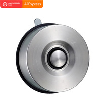 ORENBO Powerful Suction Cup Magnetic Knife Holder Stainless Steel Block Magnet Rack Stand Garage no Screws Holes