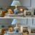 Mediterrâneo Crianças Crianças Quarto De Madeira Lâmpada De Mesa Lâmpada de Mesa Interruptor Botão E14 AC 220 V 110 V Nordic Moda Levou Lâmpada de mesa