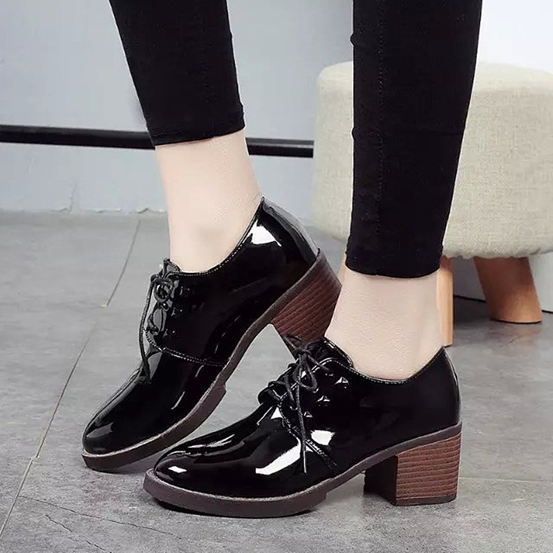 Zapatos Tacon Grueso 2017