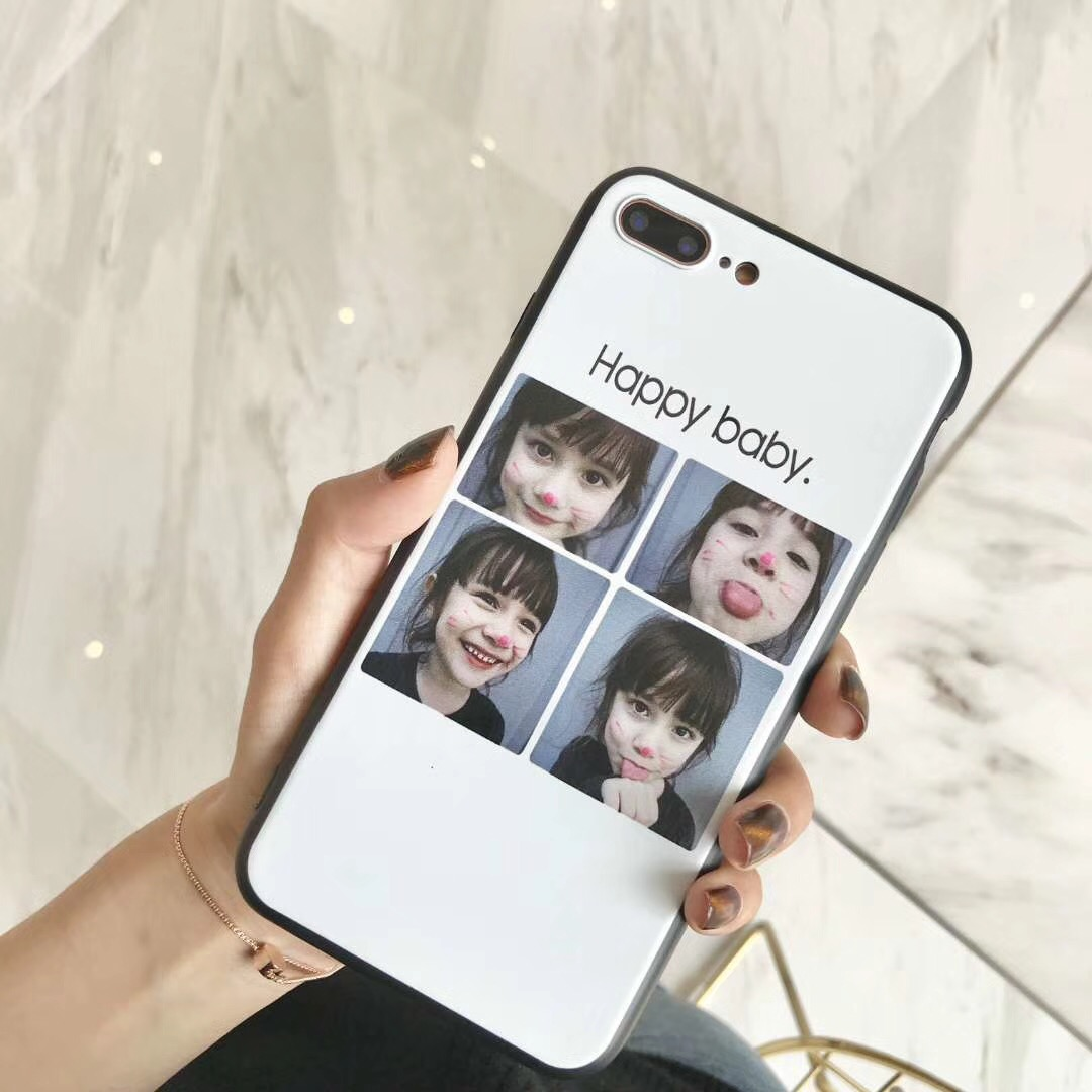 Mobile Phone Case for Vivo V9 Ultra Thin New Instagram Style Happy Baby Lovely Girl Picture Painted Fitted Cover for Vivo Y85