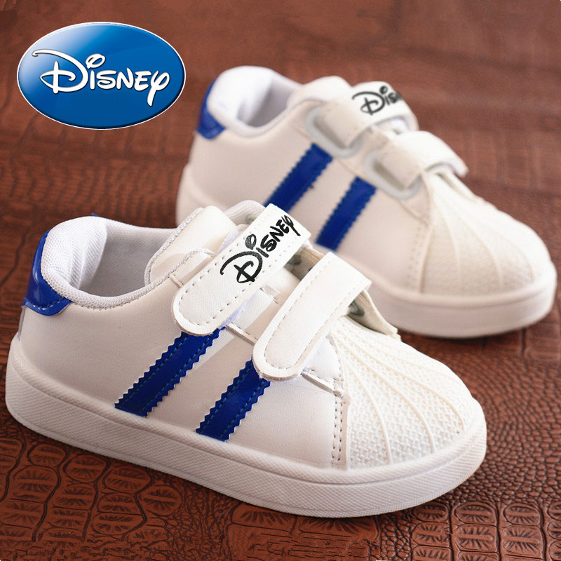 Disney 2019 Children Shoes Casual Shoes For Kids Boys Baby Sport Girls Shoes Spring Non-Slip Breathable Soft Sneakers