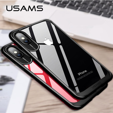 b6cb56b80eb923 USAMS Luxury PC Hard Case For iPhone X 10 Ultra Thin Back Cover Case For  iPhone. 4 Colors Available