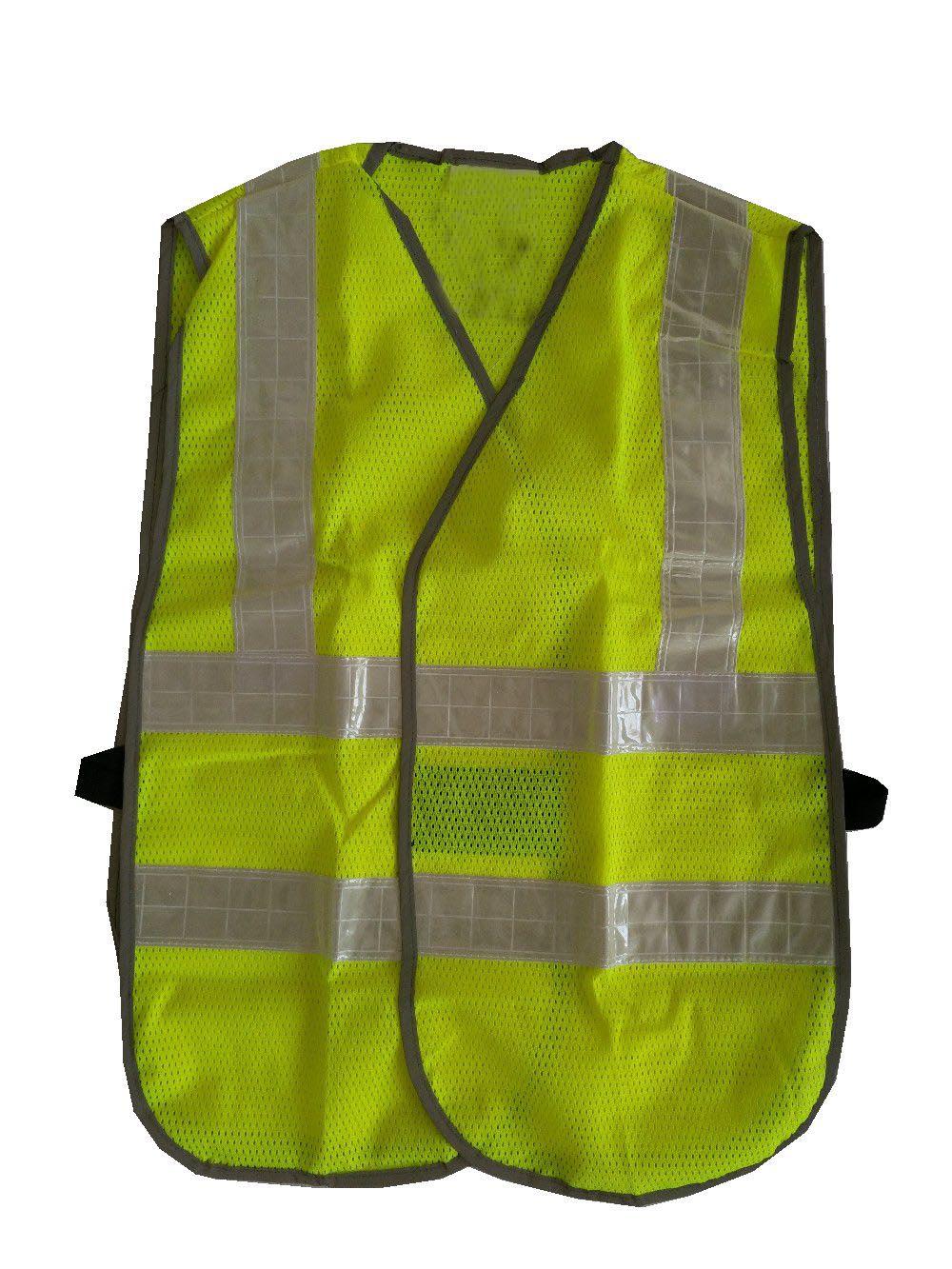 Construction Worker Reflective Vest Traffic Reflective Safety Jacket Fluorescent light PVC Tape construction