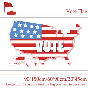 90*150cm 60*90cm 3X5FT Flag Of Vote American Voting Flags 90x150cm Customized Pirate Banners 30*45cm Car Flag image
