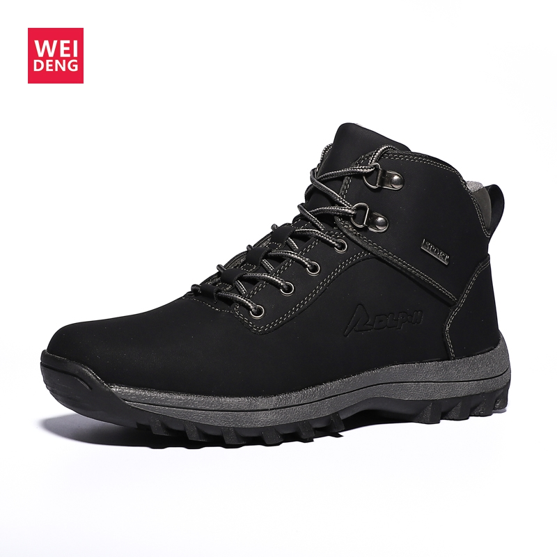 Weideng Shoes QUILTED Sports-Boots Waterproof Winter Walking-Shopping Outdoor Warm Cool