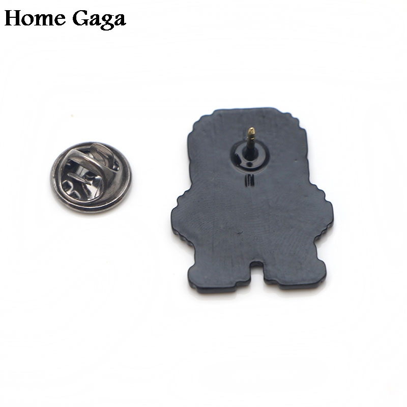 Homegaga Undertale Zinc pins para backpack pride clothes medal for bag shirt hat insignia badges brooches for men women D1657 in Badges from Home Garden